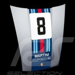 Original Porsche 911 Haube Wanddekoration Martini Racing n° 8 Design WAP0503020MMR1