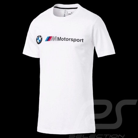 T-shirt BMW M Motorsport Puma Blanc - homme