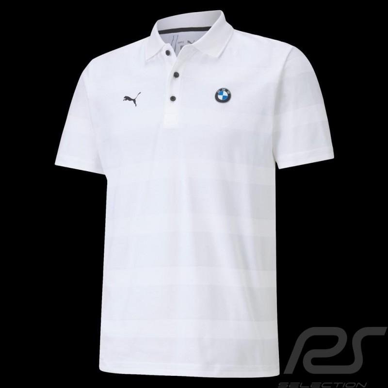 BMW M Motorsport Polo-shirt by Puma White - Men