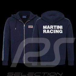 Martini Racing Team Jacket Stripes Premium Hoodie Navy blue