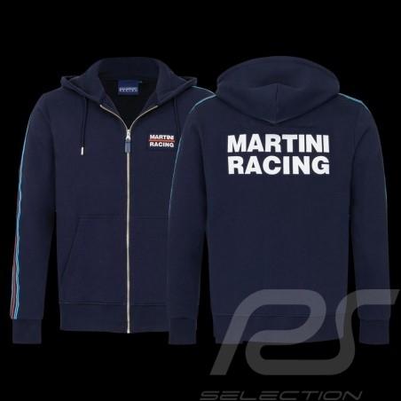 Martini Racing Team Jacket Stripes Premium Hoodie Navy blue