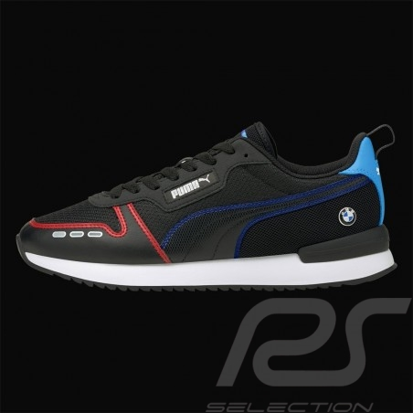 BMW Motorsport Sneaker shoes Puma MMS R78 Black / Blue / Red - men