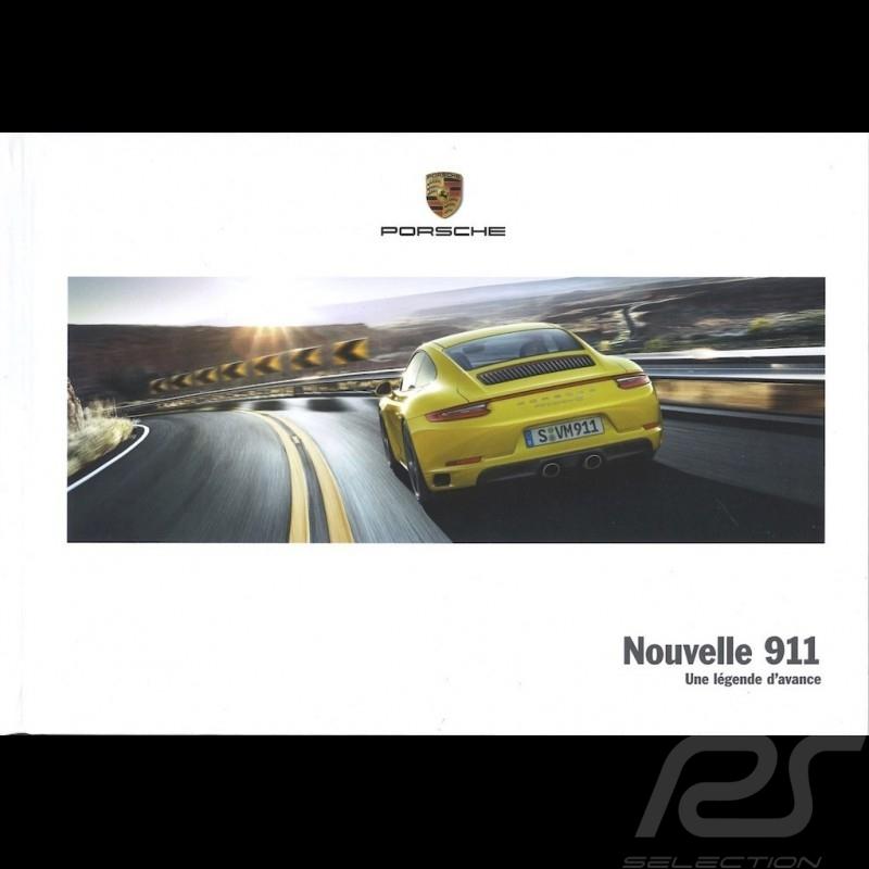 Porsche Brochure Nouvelle 911 type 991 phase 2 Une légende d'avance 03/2016 in french WSLC1701000130