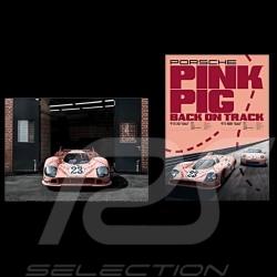 """Duo affiches Porsche 917 """"Cochon rose"""" 50 x 70 cm WAP0924500M917"""