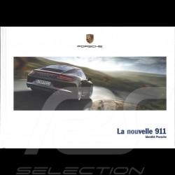 Porsche Brochure La nouvelle 911 type 991 phase 1 Identité Porsche 05/2012 in french WSLC1301000530