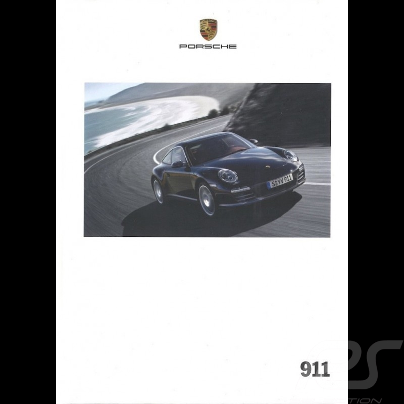 Porsche Brochure 911 type 997 phase 2 11/2010 in french WSLC1201000130