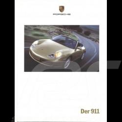 Porsche Brochure Der 911 type 996 09/1999 in german WVK16511000
