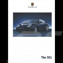 Porsche Brochure  The 911 type 996 phase 2 09/2001 in english WVK20002002
