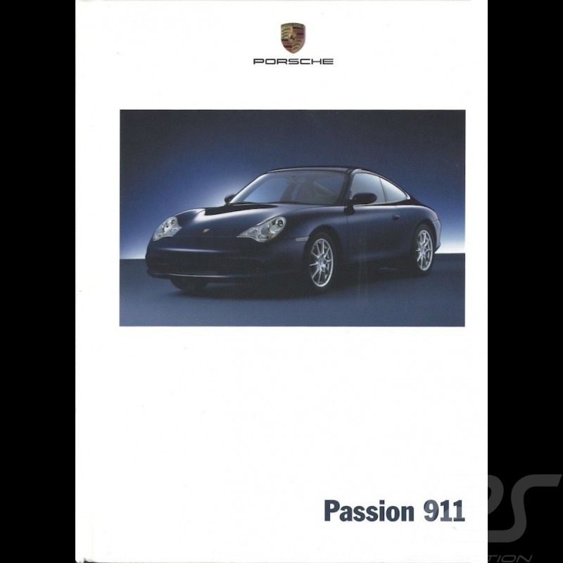 Porsche Brochure Passion 911 type 996 phase 2 09/2001 in german WVK20001002
