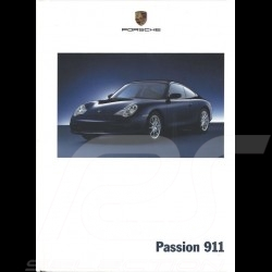 Porsche Brochure Passion 911 type 996 09/2001 in french WVK20003002