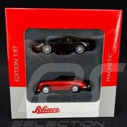 Porsche 356 & Porsche 911 (991) set of 2 magnets 1/87 Schuco 452490300