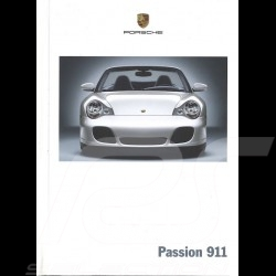Porsche Brochure Passion 911 type 996 phase 2 04/2004 in french WVK21543005