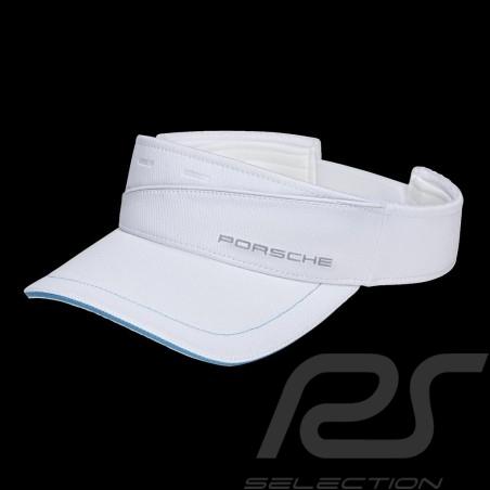 Porsche visor hat Sport collection Cool & Dry White / Turquoise WAP5410020M0SP