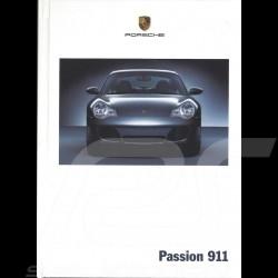 Porsche Brochure Passion 911 type 996 phase 2 07/2002 in german WVK20801003