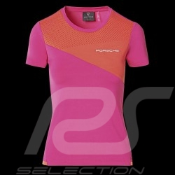 Porsche T-shirt Sport Collection Rosa / Orange WAP539M0SP - Damen