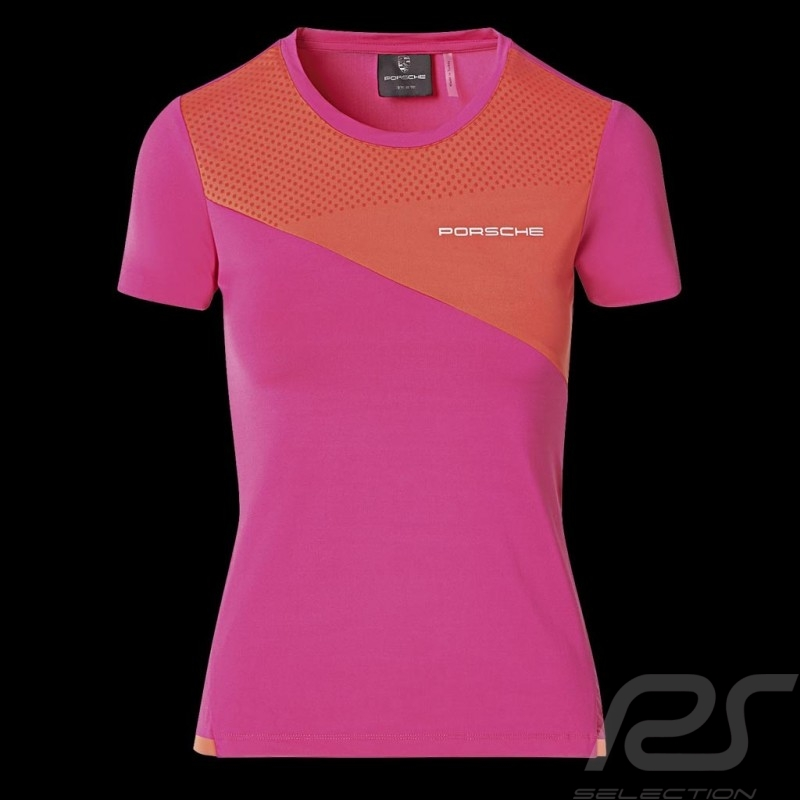 Porsche T-shirt Sport Collection Pink / Orange WAP539M0SP - women