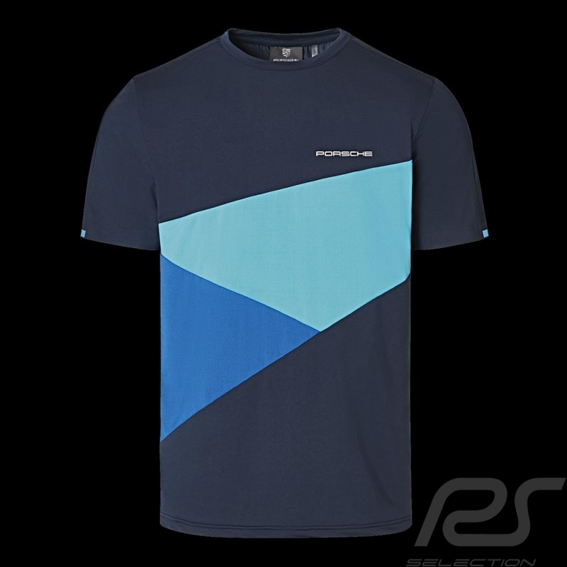 Porsche T-shirt Sport Collection Blue WAP535M0SP - Men
