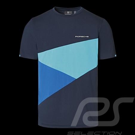 Porsche T-shirt Sport Collection Blau WAP535M0SP - Herren
