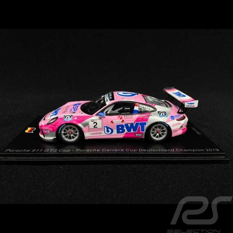 Porsche 911 GT3 Cup type 991 n° 2 Winner Porsche Carrera Cup Deutschland 2019 1/43 Spark SG428