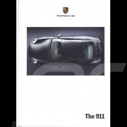 Brochure Porsche The 911 type 996 08/2000 in english WVK17362001