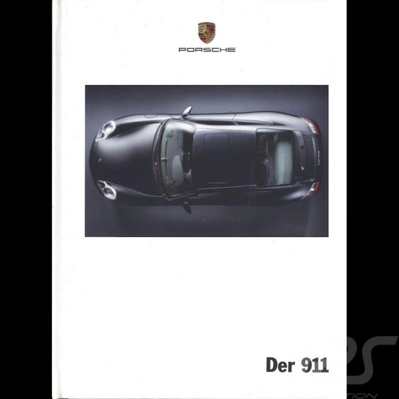 Porsche Brochure Der 911 type 996 08/2000 in german WVK17361001