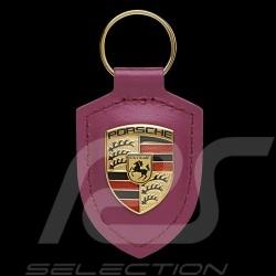 Porte-clés Porsche écusson Rouge rubis / Rubystone WAP0500300MM3B