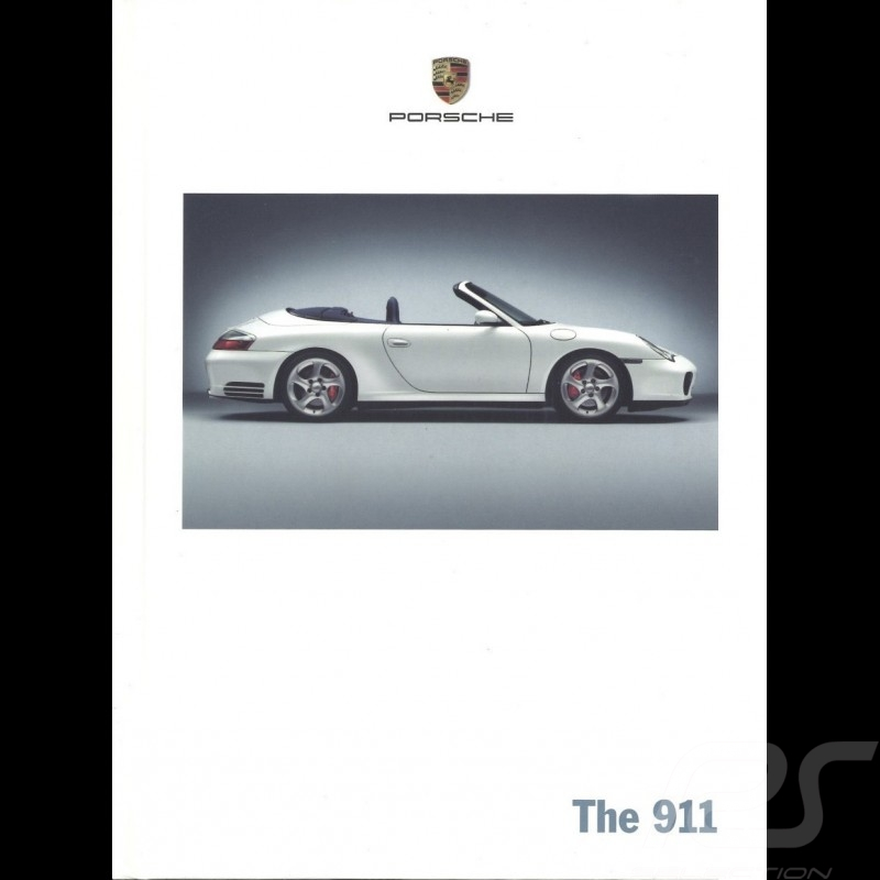Porsche Brochure The 911 type 996 phase 2 07/2003 in english WVK21172004