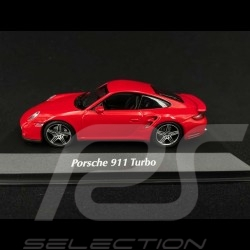 Porsche 911 Turbo type 997 Guards red 2006 1/43 Minichamps 940065201