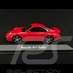 Porsche 911 Turbo type 997 Rouge indien 2006 1/43 Minichamps 940065201