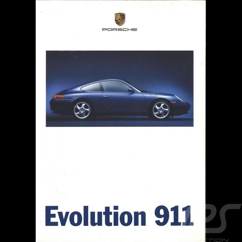 Porsche Brochure Evolution 911 type 996 06/1997 in german WVK19531098