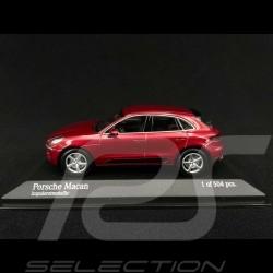 Porsche Macan Impulse Red metallic 2013 1/43 Minichamps 410062600
