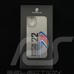 "Porsche coque iPhone 12 Mini (5.4"") Martini Racing Polycarbonate WAP0300100MSOC"