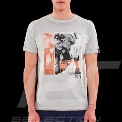 Steve McQueen T-shirt Photographer Washed grey - Men