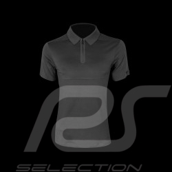 Porsche Design Polo shirt Performance Asphalt grey Cool Jade 2.0 Porsche Design Active - men
