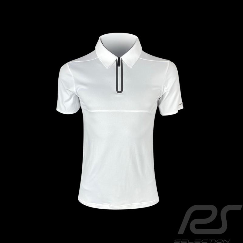 Porsche Design Polo shirt Performance White Cool Jade 2.0 Porsche Design Active - men