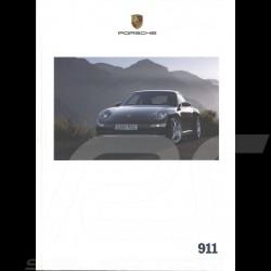 Porsche Broschüre 911 04/2007 in englisch WVK22972008