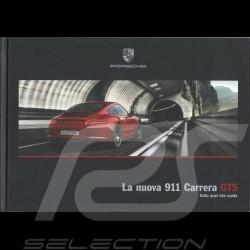 Porsche Broschüre La nuova 911 type 991 Carrera GTS Tutto quel che conta 10/2014 in  Italienisch WSLM1501000140