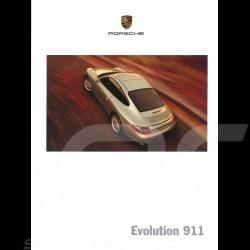 Porsche Broschüre Evolution 911 type 996 1999 USA