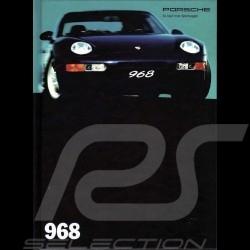 Porsche Broschüre 968 08/1993 in Deutsch WVK12700994