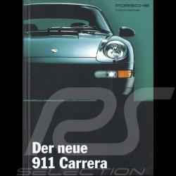 Porsche Broschüre Der neue 911 Carrera 11/1993 in Deutsch WVK13901194