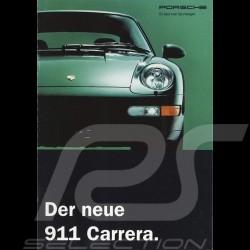 Porsche Broschüre Der neue 911 Carrera 10/1993 in schweizerisch Deutsch 93174