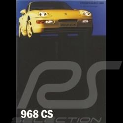 Porsche Broschüre 968 CS 10/1992 in Deutsch WVK12781093