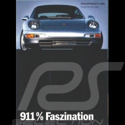 Porsche Broschüre 911 % Faszination 09/1993 in Deutsch WVK14051094