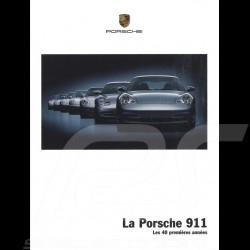 Porsche Broschüre La Porsche 911 les 40 premières années 09/2003 in Schweizer Französisch 9.03/7