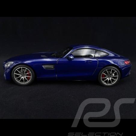 Mercedes Benz AMG GT S 2019 blue metallic 1/18 Norev 183740