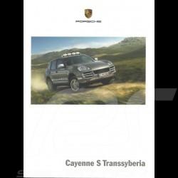 Porsche Broschüre Cayenne S Transsyberia 08/2008 in Französisch WSLE1001000130