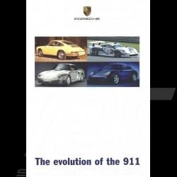 Porsche Broschüre The evolution of the 911 10/1997 in englisch LGB20010010