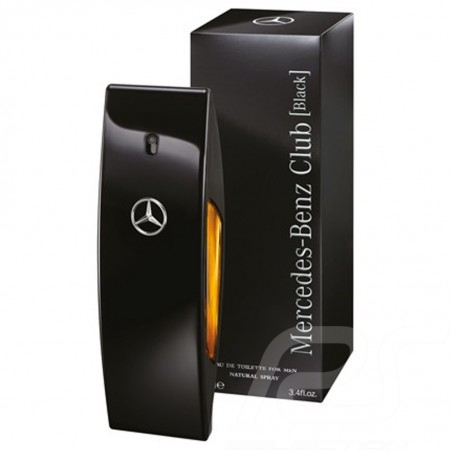 Perfume Mercedes men eau de toilette Club Black 50ml Mercedes-Benz MBMC120
