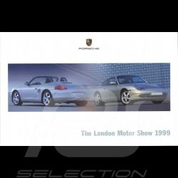 Porsche Broschüre The London Motor Show 10/1999 in englisch