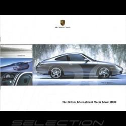 Porsche Broschüre The British International Motor Show 10/2000 in englisch